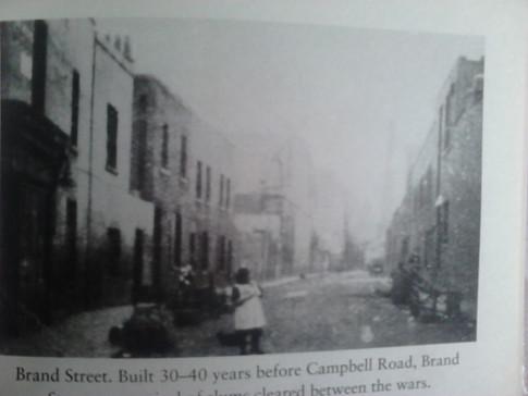 Campbell Road street scenes.