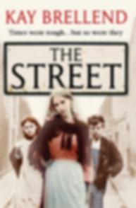 Kay Brellend, the street, book cover