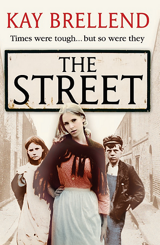 Kay Brellend, the street, book cover