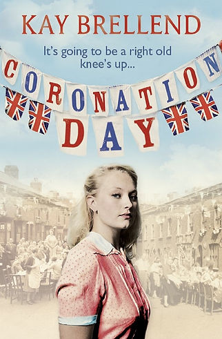 kay brellend, book cover, coronation day