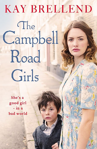 kay brellend, the campbell road girls book cover