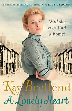 kay brellend, a lonely heart, book cover