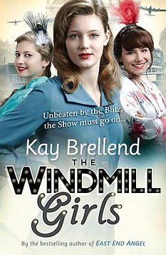 Kay Brellend, the windmill girls, book cover