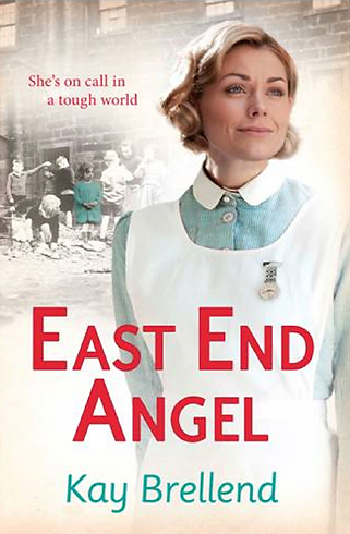 kay brellend, east end angel book cover