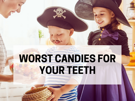 The 10 Worst Candies for Your Teeth