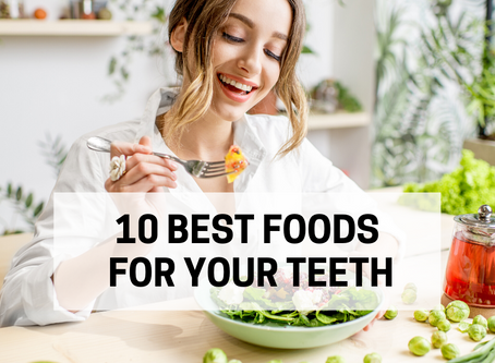 10 Best Foods for Your Teeth