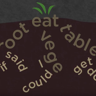 """Kinetic Typography: """"The Nutritionist"""" by Andrea Gibson"""