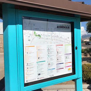 Downtown Kingman Informational Kiosk