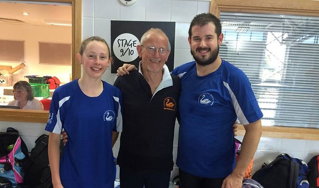 Exmouth Swimmers at Devon Masters & Seniors meet