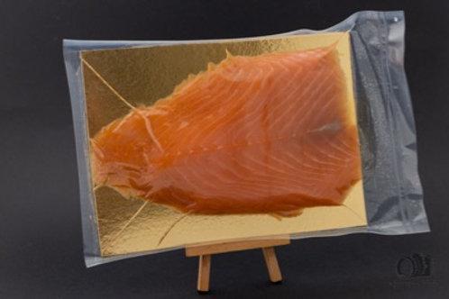 Saumon d'Ecosse Label Rouge fumé  au bois de hêtre (500gr)