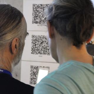 Discussing QR installation