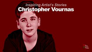 A Conversation with #InspiringArtist Christopher Vournas