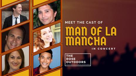 The Cast of Man of La Mancha in Concert