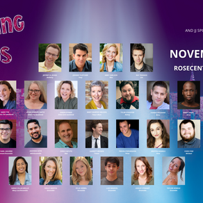 The Cast of the World Premiere Stage Adaptation Waiting in the Wings: The Musical