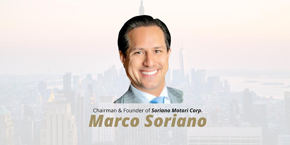 Marco Antonio Soriano IV - Caso de éxito y mejores prácticas en Soriano Group Family Office
