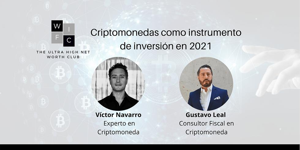 Criptomonedas como instrumento de inversión en 2021