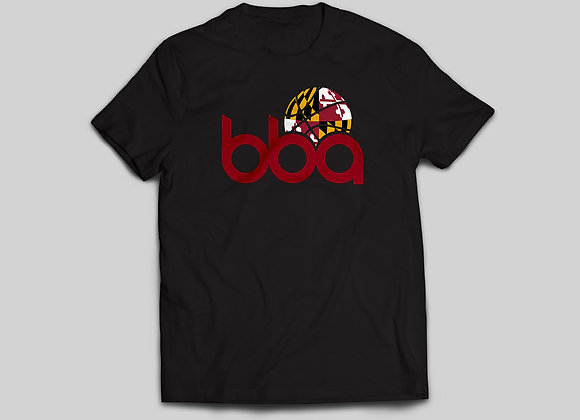BBA Maryland Crew Neck in Black