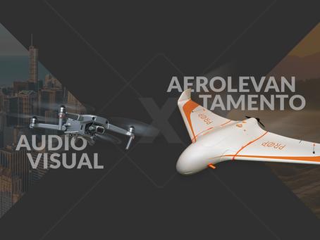 Operações de Drone - Audiovisual x Aerolevantamento