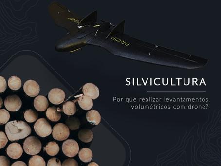 A eficiência que o uso de Drones traz para a Silvicultura.