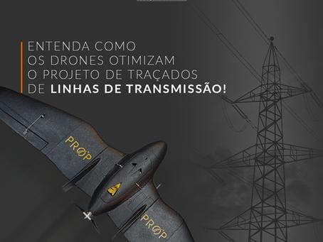 Como drones otimizam o projeto de traçados de Linha de Transmissão?