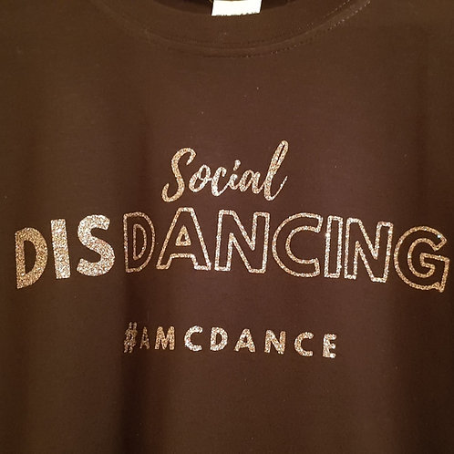 Social DisDancing Tshirt Glitter Edition