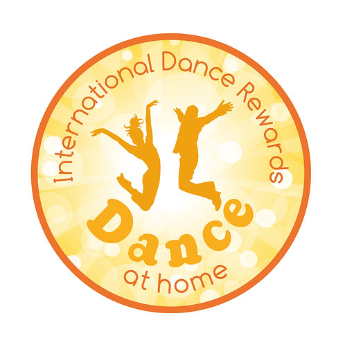 Dance at Home - woven badge and certificate