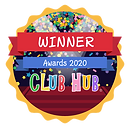 Winner Digital Badge - Club Hub Awards 2