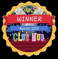 Winner Digital Badge - Club Hub Awards 2