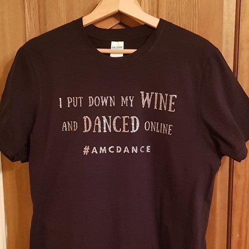 Wine Online Tshirt Glitter Edition