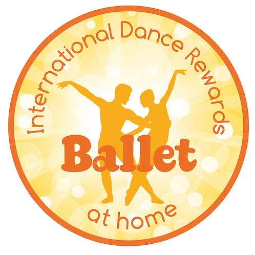 Ballet at Home - woven badge and certificate