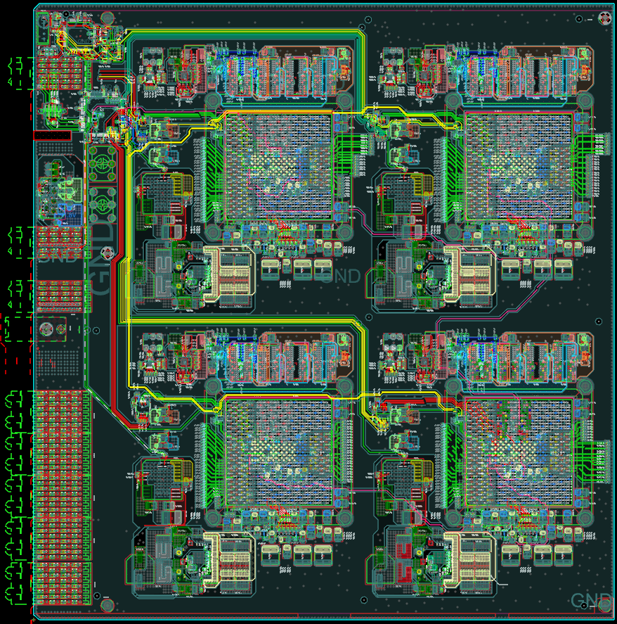 PCIe Serial 4xXCKU