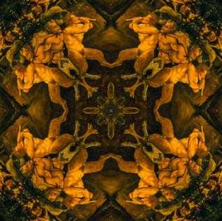 a hunting scene Kaleidoscope 6oiled.JPG