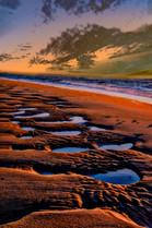 20170101-Sunset  New Years Day Wellfleet