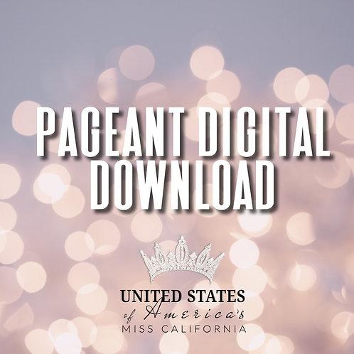 Pre-Order your 2020 USOA Miss CA Digital Video
