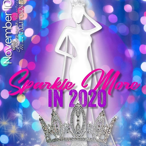 USOA Miss California Program Book Pre-Sale
