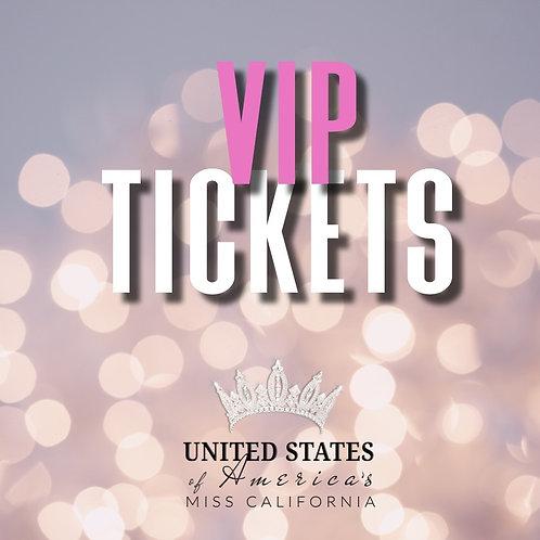 VIP Tickets to USOA Miss California