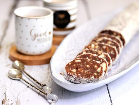 נקניק שוקולד וחמאת בוטנים