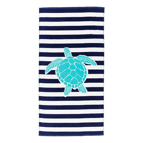 Turtle Stripe Towel