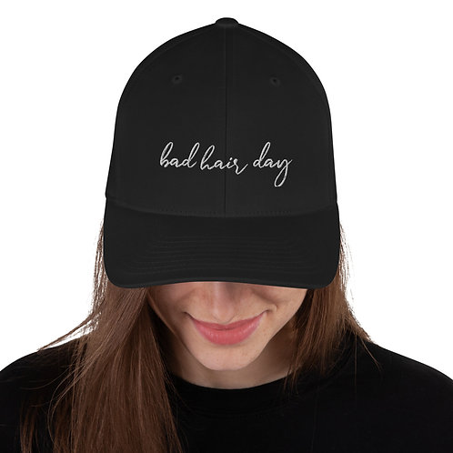 BAD HAIR DAY Structured Twill Cap