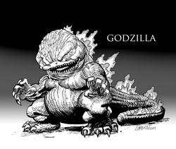 Godzilla Sketch
