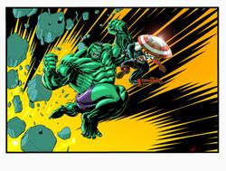 Hulk vs. Cap
