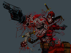 Deadpool colored