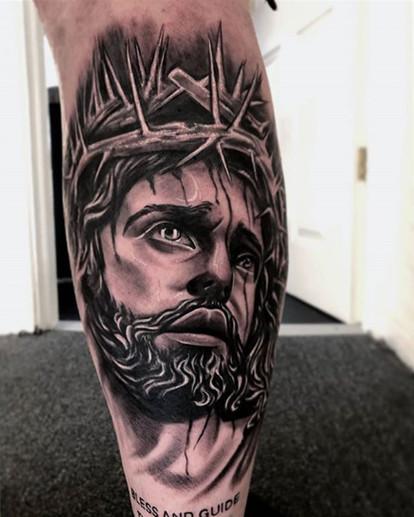 jesus tattoo by jeremie.jpg