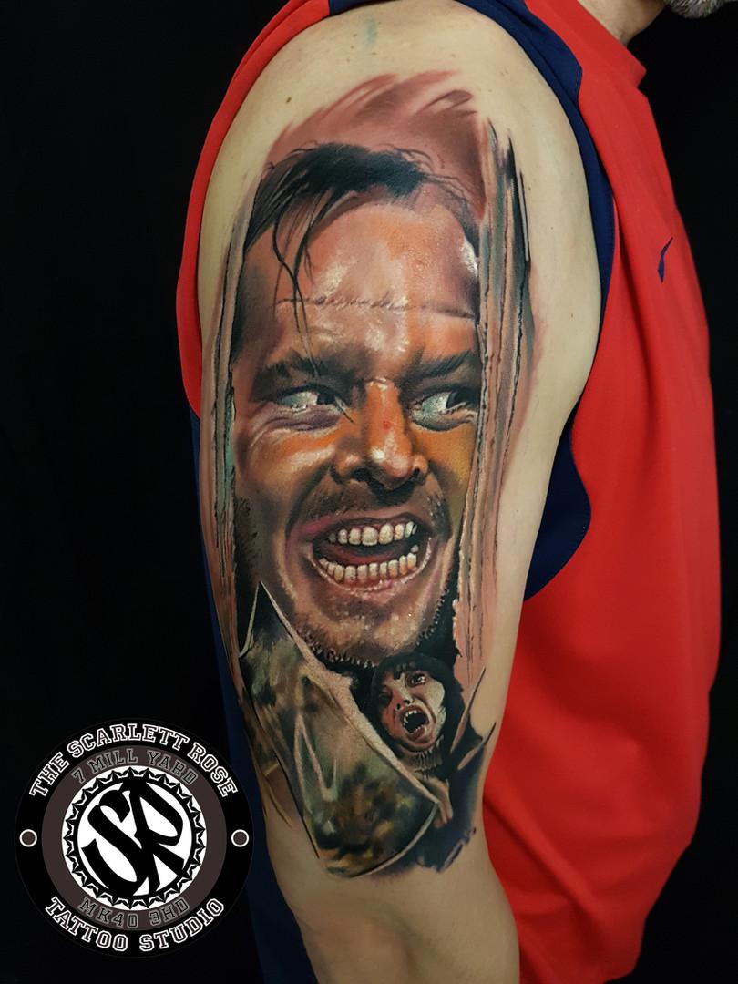 Colour tattoo Portraits
