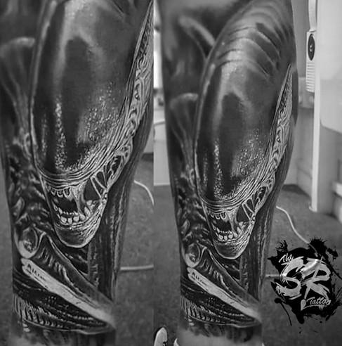 Alien tattoo film Realism tattoo