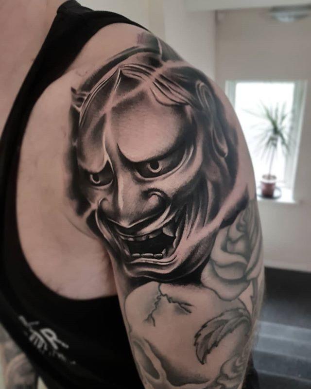 Done at The Scarlett Rose Tattoo Studio LTD