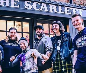 The Scarlett Rose Team in Bedford
