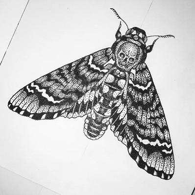 Moth design by our apprentice @lewispark