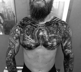 Custom Chest tattoos