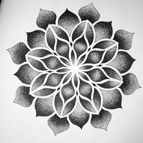 Come and get booked in for some mandala